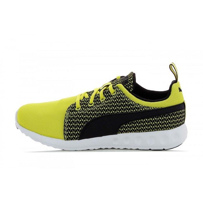 Basket carson runner knit jaune Puma
