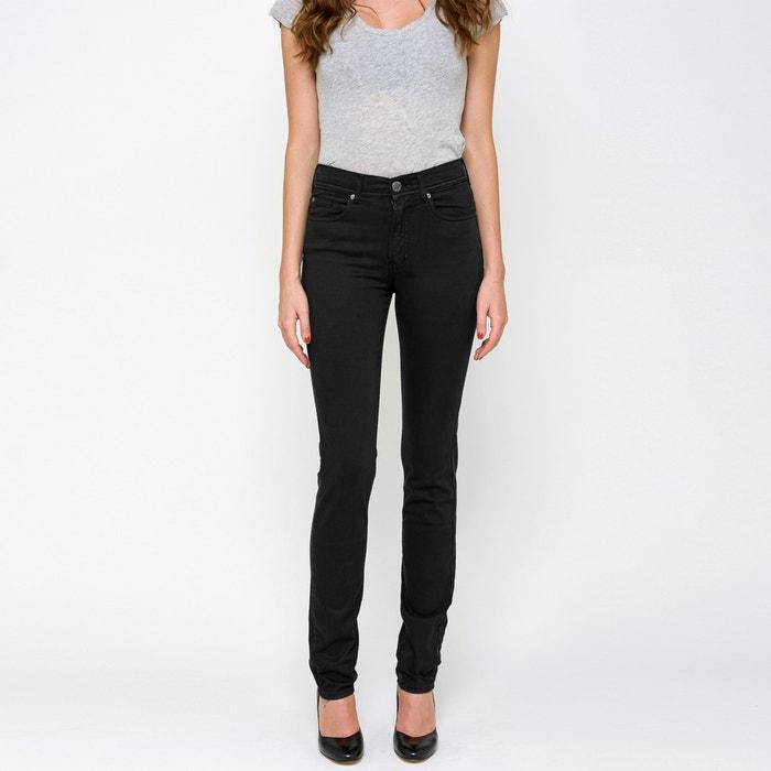 Image Pantaloni NOUFLORE, taglio slim, vita alta CIMARRON