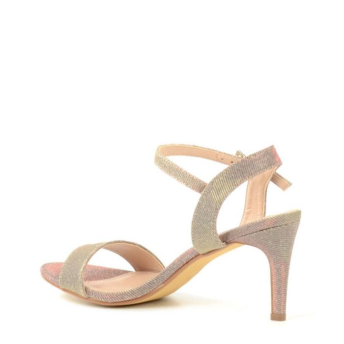 Sandales à talon - rose rose Sacha