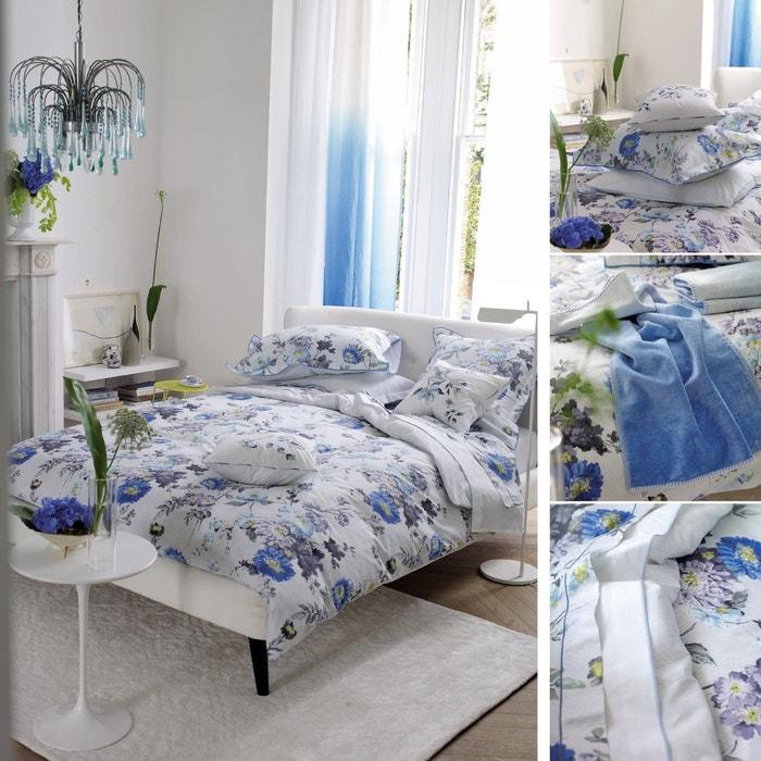 ophelia drap plat bleu designers guild la redoute. Black Bedroom Furniture Sets. Home Design Ideas