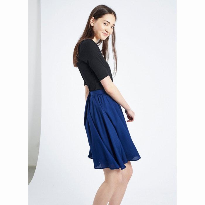 estilo Marino Azul FANTASTICA Falda patinadora Prune COMPANIA 8wXtp