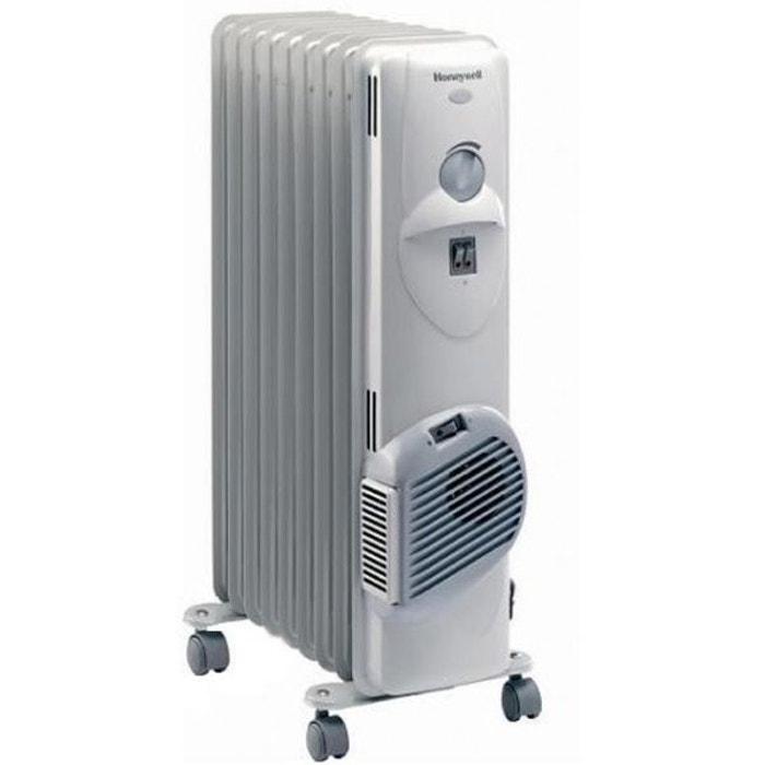 Honeywell radiateur bain d 39 huile 2500w hr40920fe - Radiateur bain d huile consommation ...