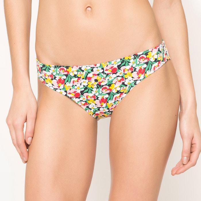 afbeelding Klassieke bikinislip met bloemenprint La Redoute Collections