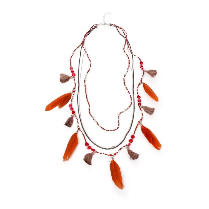 afbeelding Halsketting met pluimen ANNE WEYBURN
