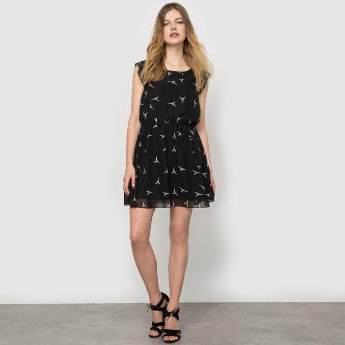 Bedrukte jurk met korte mouwen  MOLLY BRACKEN image 0