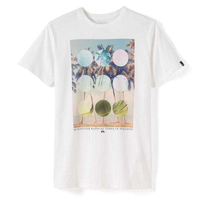 T-shirt à motif imprimé QUIKSILVER