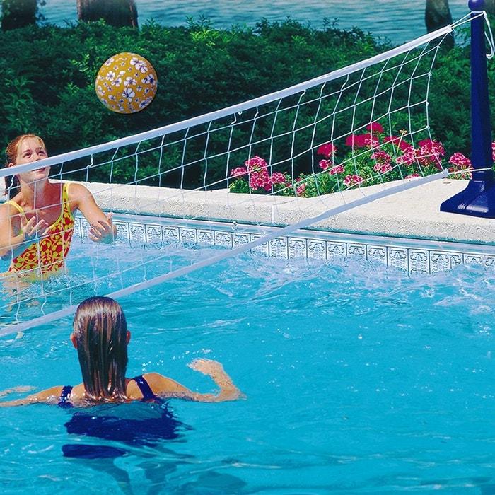 filet de volley pour piscine couleur unique kerlis la. Black Bedroom Furniture Sets. Home Design Ideas