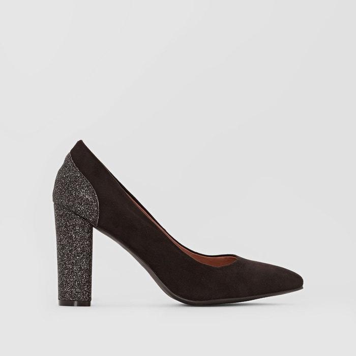 Escarpins talon paillettes   noir Mademoiselle R   La Redoute