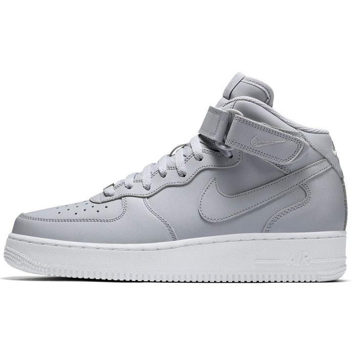 Basket air force 1 mid '07  noir Nike  La Redoute