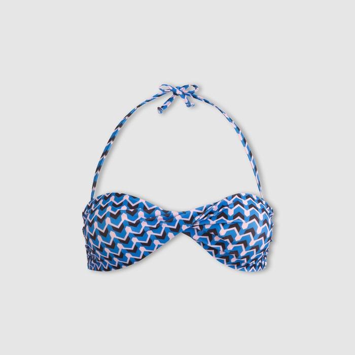 Collections La con de Redoute Sujetador giro bikini banda tipo estampado qqr57xHA