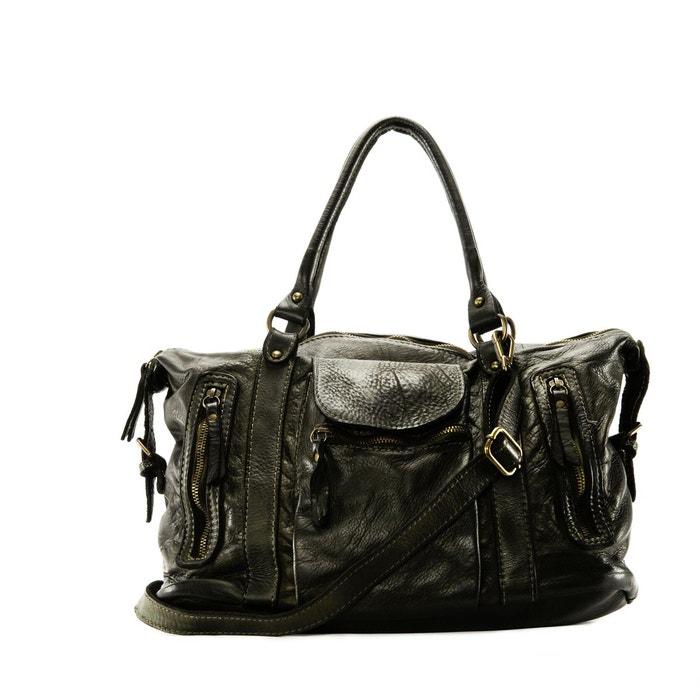 8fe74c22dc Sac à main haut de gamme en cuir délavé miss my Oh My Bag | La Redoute