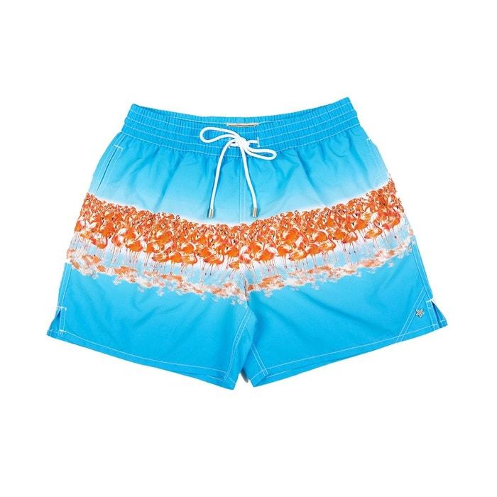 615b5ecdcb Bayahibe Camargue Bain Lagon Swimwear De Maillot Bleu Flamant Rose K13lTJFc