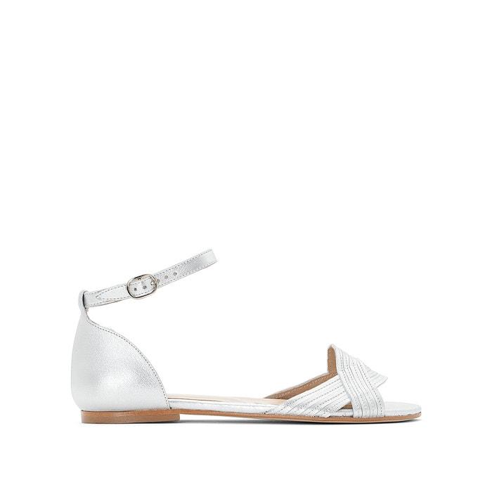 JONAK Diaza Leather Sandals cheap sale 5I1KCZ