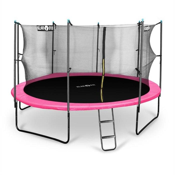 rocketgirl 430 trampoline 430 cm filet de s curit rose autre klarfit la redoute. Black Bedroom Furniture Sets. Home Design Ideas