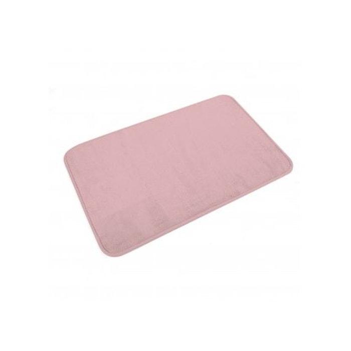 Tapis De Bain Uni En Microfibre Rose Poudre Home Bain La Redoute