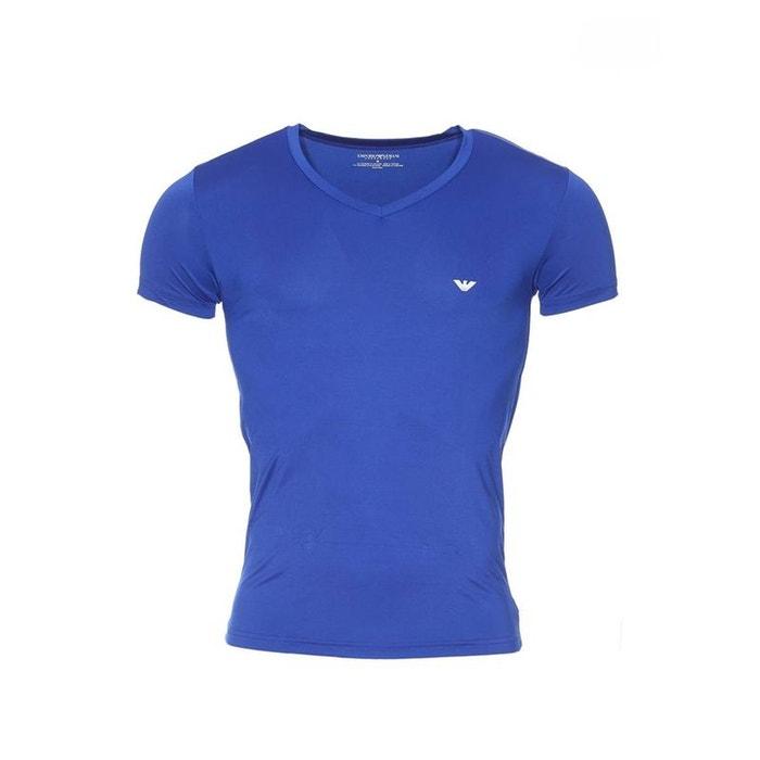 Emporio armani - maillot de corps bleu Emporio Armani   La Redoute d2637c50abbe