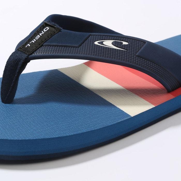 Tongs imprint pattern bleu à motifs Oneill