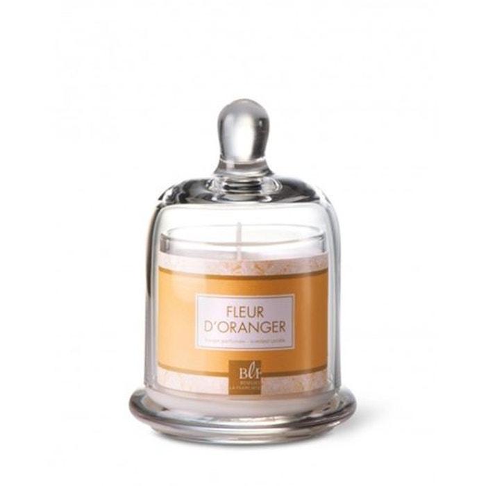 bougie parfum e sous cloche 30h fleur d 39 oranger imprim orange bougies la fran aise la redoute. Black Bedroom Furniture Sets. Home Design Ideas
