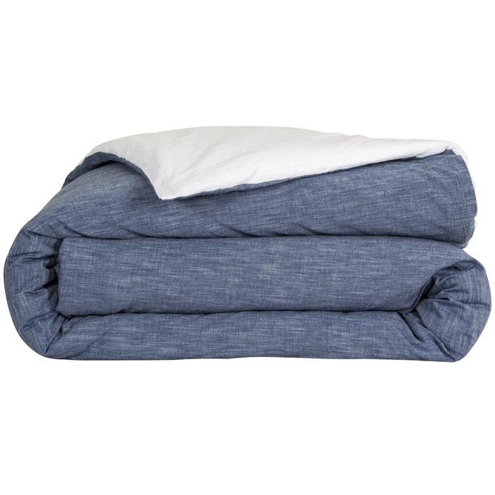 housse de couette coton chambray avesta sensei la maison du coton la redoute. Black Bedroom Furniture Sets. Home Design Ideas