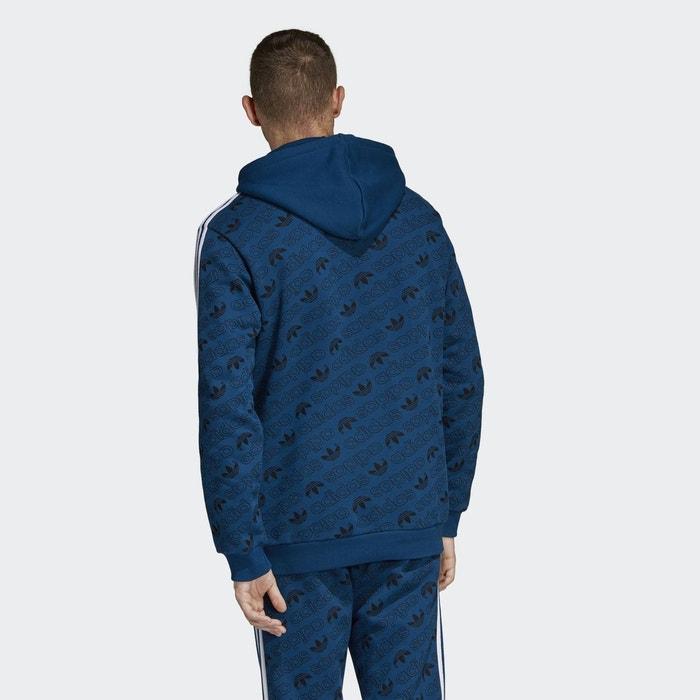 Adidas À La Redoute Capuche Sweat Shirt Monogram Bleu Originals qXx7U