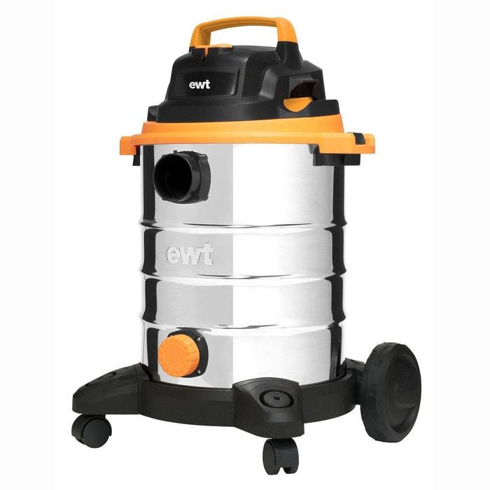 Aspirateur cs3 comfort eau et poussières 23l acier Ewt   La Redoute 482791363b4f
