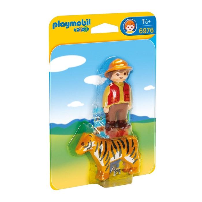 Aventurier avec tigre pla6976 couleur unique playmobil la redoute - La redoute playmobil ...