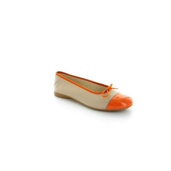 Orange HIRICA HIRICA Ynes Ballerines Hirica Ballerines g6pyaW1nB