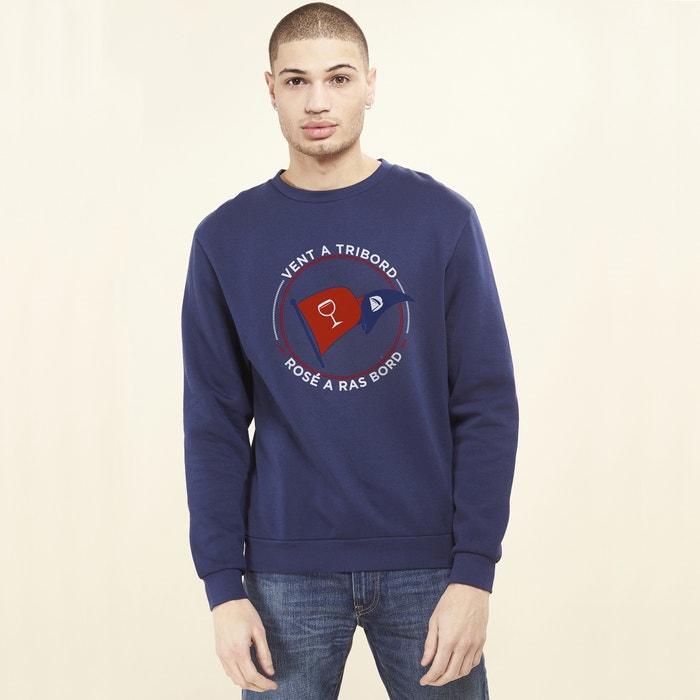 Sweater met ronde hals en motief vooraan  RAD image 0