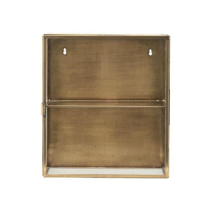 vitrine tag re murale vitr e m tal cabinet or house. Black Bedroom Furniture Sets. Home Design Ideas