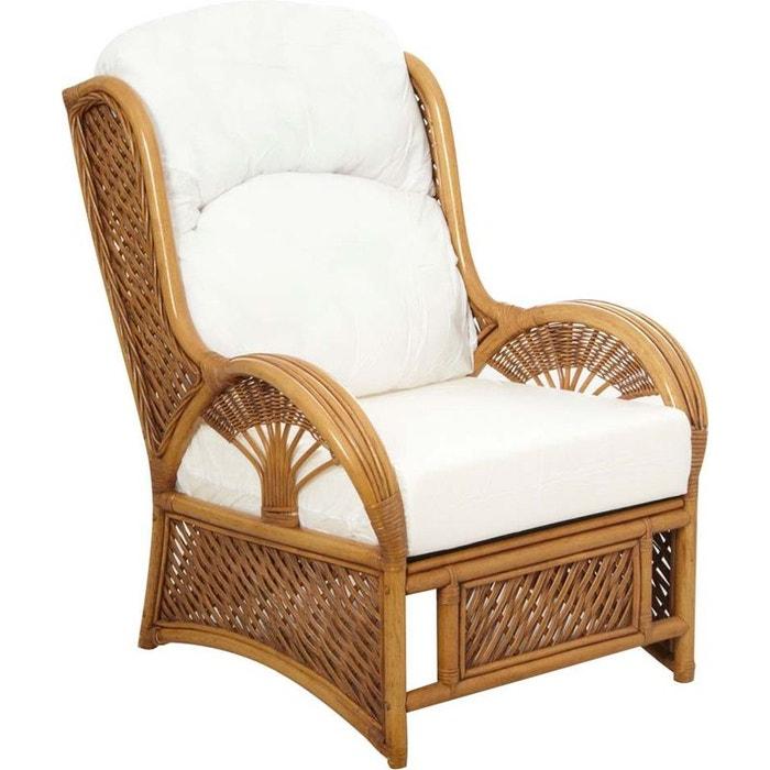 fauteuil en rotin teint verni marron aubry gaspard la redoute. Black Bedroom Furniture Sets. Home Design Ideas