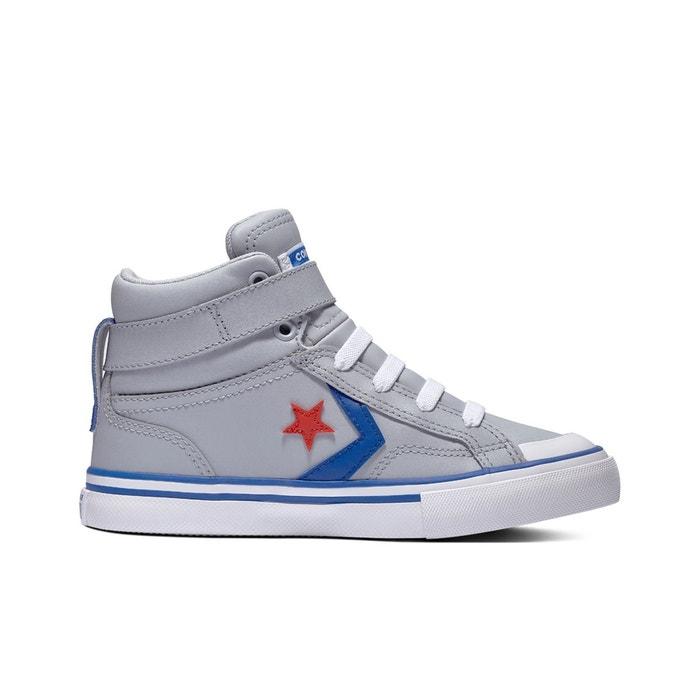 4c873143814b3 Baskets hautes pro blaze strap gris Converse