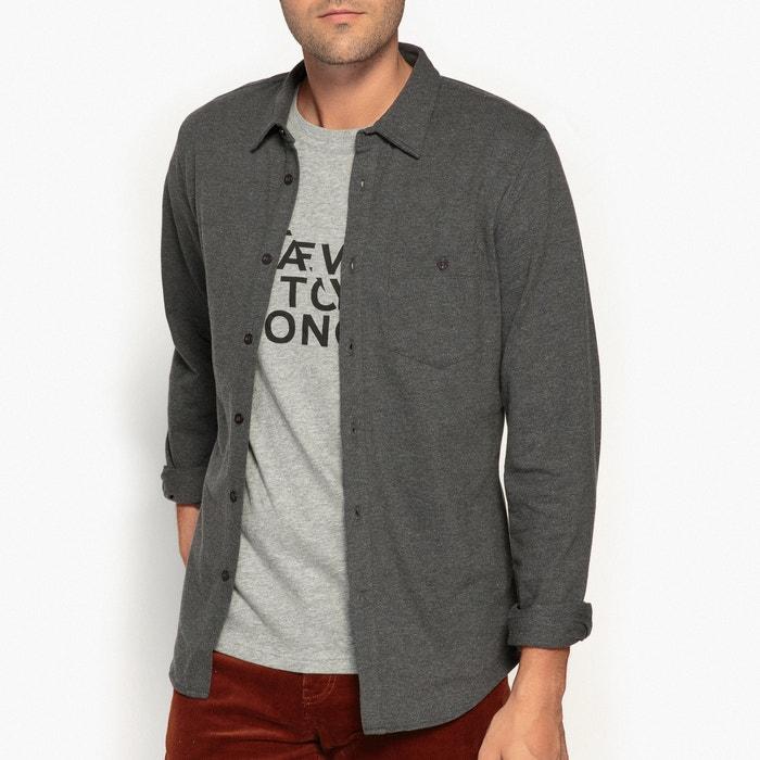 Slim Cotton Mesh Shirt  La Redoute Collections image 0