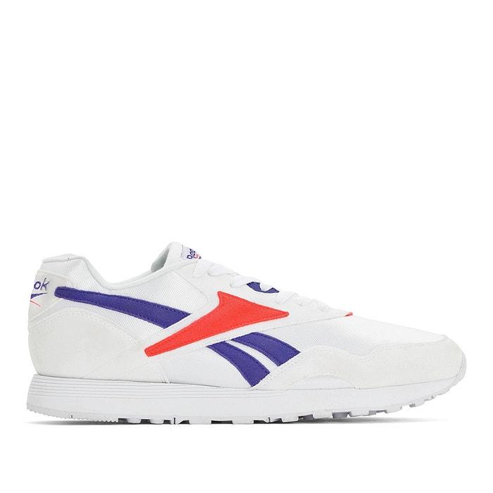 fc575a9837e Leren sneakers rapide mu wit Reebok | La Redoute