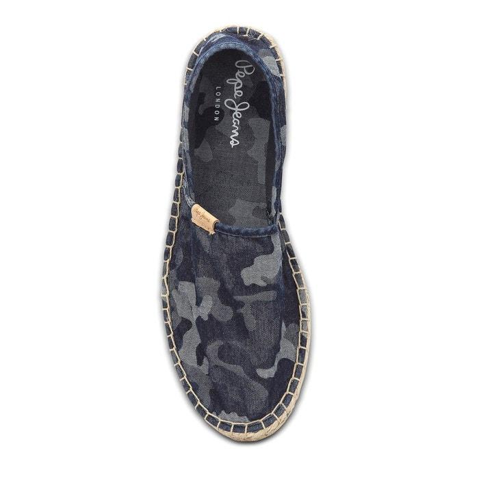 Espadrilles samoa camu imprimé camouflage Pepe Jeans