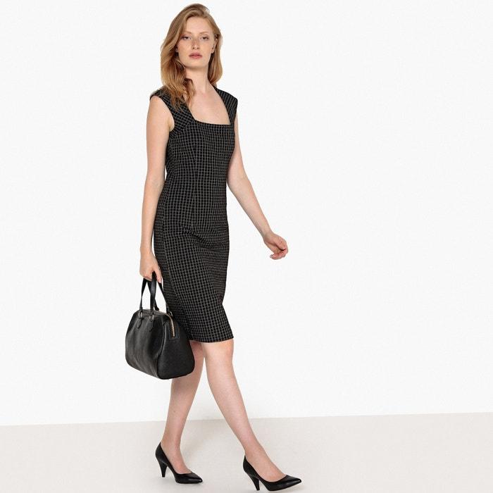 office Collections moldeador La estilo cuadros Vestido Redoute a 5wqZ0