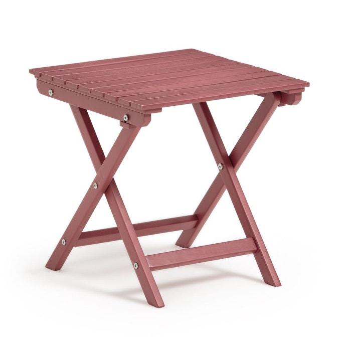 Table basse pliante Zeda en acacia