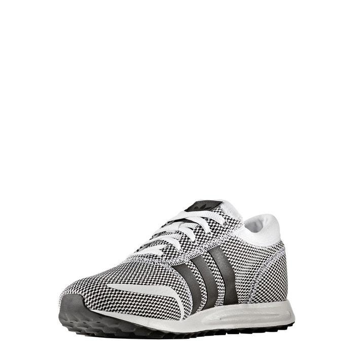 Baskets los angeles blanc/noir Adidas
