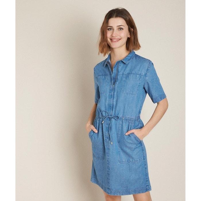 Robe Droite En Jean Camelia Bleu Maison 123 La Redoute