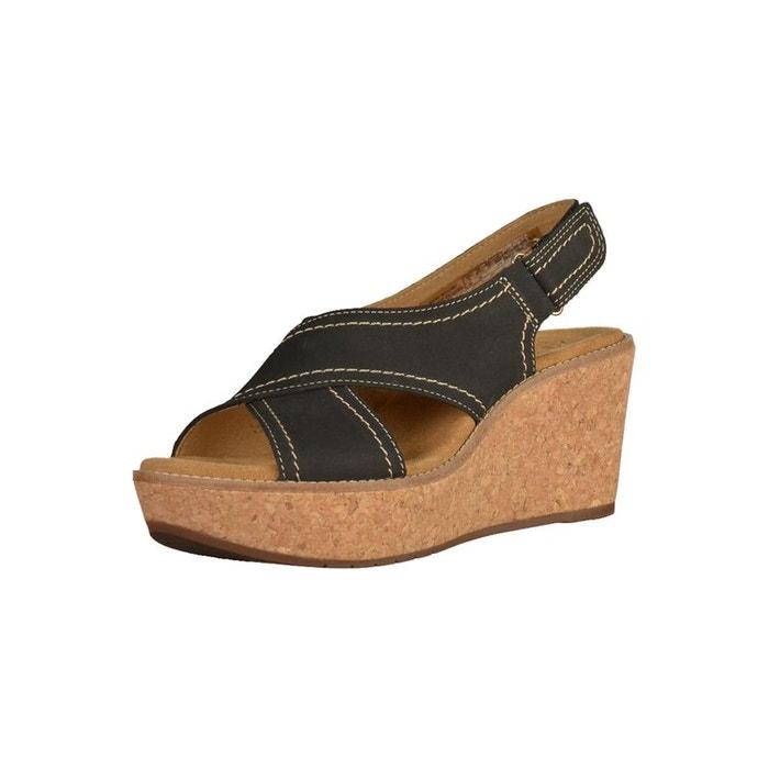 Clarks AISLEY TULIP Noir - Livraison Gratuite avec  - Chaussures Sandale Femme