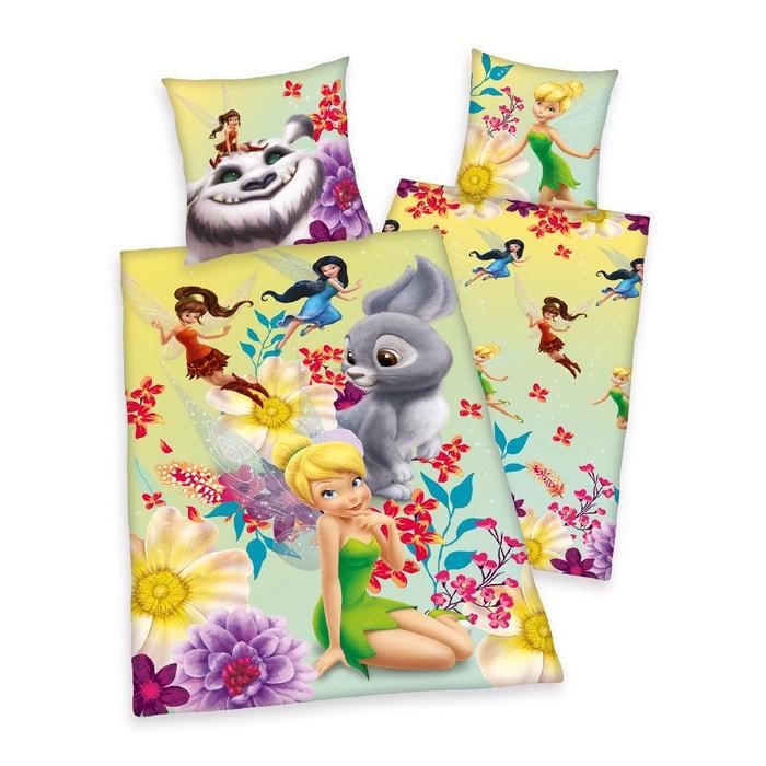 Parure de lit enfant les f es lot housse de couette taie d 39 oreiller cla - La redoute couette enfant ...