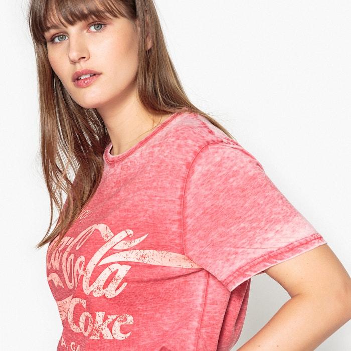 COLA COCA Camiseta de corta redondo cuello manga drCArwZqx