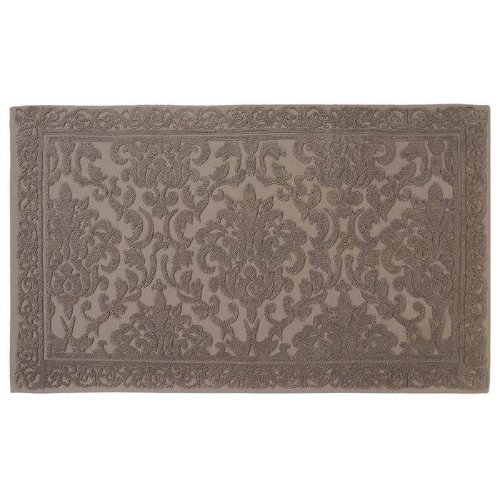 tapis de bain jacquard 1200gr m 60x100cm arabesk marsala ak collection la redoute. Black Bedroom Furniture Sets. Home Design Ideas