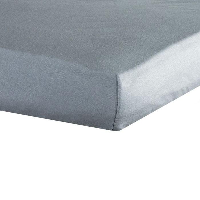 Drap housse b b 70x140 gris gris les kinousses la redoute for Draps housse la redoute