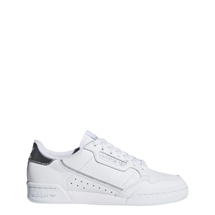 Chaussures continental 80 blancblancargent Adidas