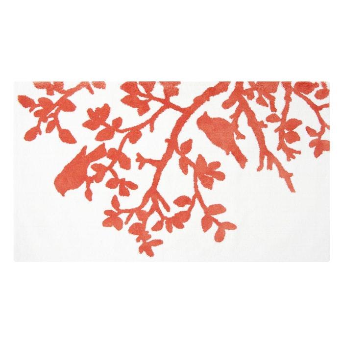 Tapis de bain tree orange orange i fil home la redoute - Tapis de bain la redoute ...