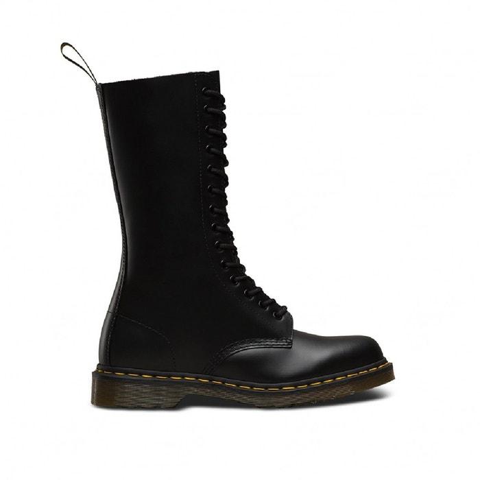 Boots 1460 black greasy noir Dr Martens   La Redoute
