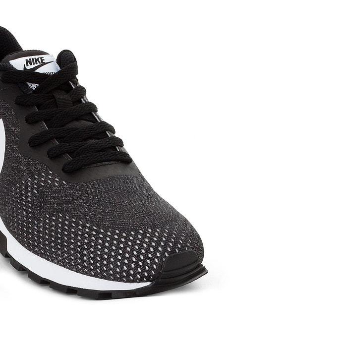 Baskets md runner 2 eng gris + blanc + noir Nike