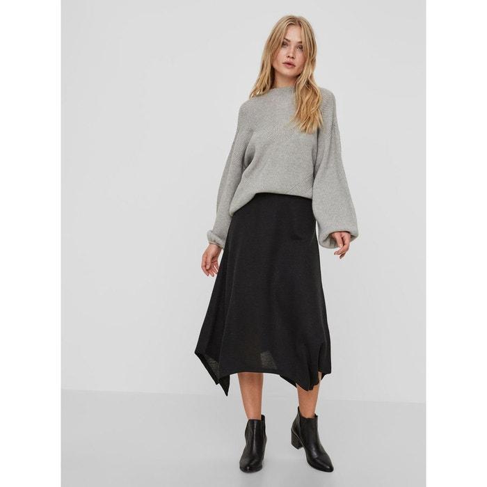 jupe longue black vero moda la redoute. Black Bedroom Furniture Sets. Home Design Ideas