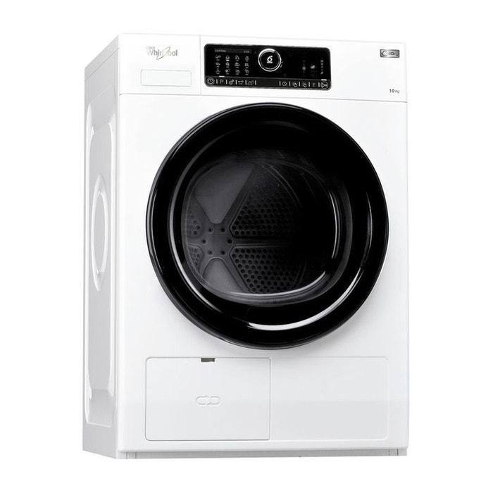 sèche-linge pompe à chaleur frontal whirlpool hscx 10432 10kg