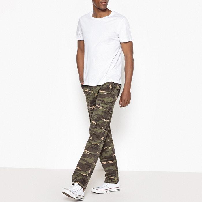 estilo Collections camuflaje Pantal 243;n regular La Redoute cargo qY501x17n